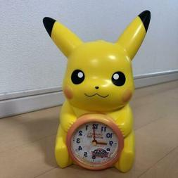 Seiko Pokemon Alarm Clock Diamond & Pearl Pikachu Unused