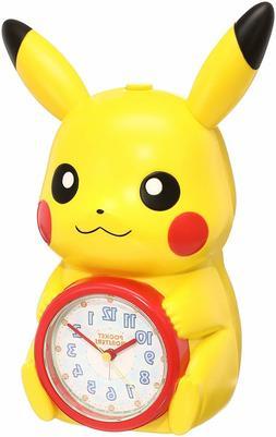 SEIKO CLOCK Pokemon Pikachu alarm clock JF379A JAPAN NIB F/S