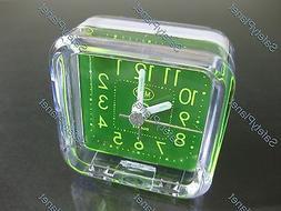 portable 1xaa battery cell desk alarm clock
