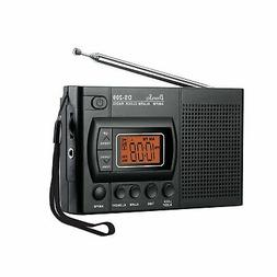 DreamSky Portable AM/FM Radio Alarm Clock, Clear Loudspeaker