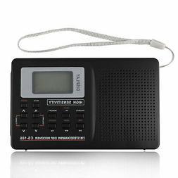 Portable Digital World Full Band Radio Receiver AM/FM/SW/MW/