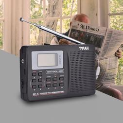 Portable Digital World Full Band Radio Receiver AM/FM/SW/MW/