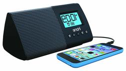 iHome Portable Dual Alarm Clock + USB Charging