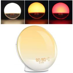 Portable Round Shape Multifunctional FM Radio With Light Ala