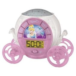 Disney Princess Magical Projection Alarm Clock