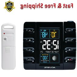 Programmable Alarm Clock with Temperature Intelli Time USB P
