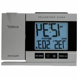 La Crosse Technology Projection Alarm Clock with Indoor/Outd