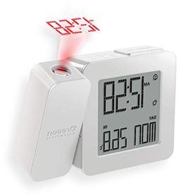 Oregon Scientific Projection Atomic Clock + Indoor Temperatu