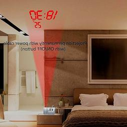 Projection Clock FOR Bedroom Projection With Backup USB Time