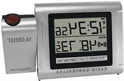 La Crosse Technology Projector Alarm Clock with Outdoor Temp