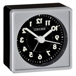Seiko QHE083SLH Alarm Clock - 2.25 in. Wide