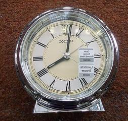 Seiko QHE132GLH Japanese Quartz Alarm Clock