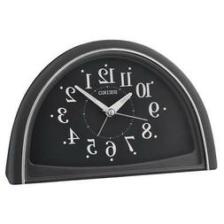 Seiko QHE166K Analogue Arabic Numerals Bedside Beep Alarm Cl