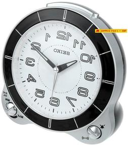 Seiko Qhk031Slh Bedside Alarm Japanese Quartz Alarm Clock