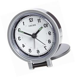 Seiko QHT011KLH Travel Analog Clock