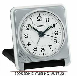 Seiko QHT015S New Travel Alarm Clock│Plastic Case│Light