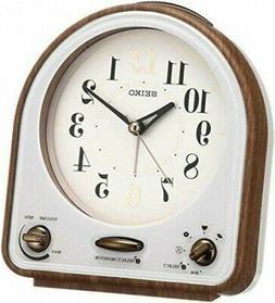 Seiko Clock QM747B 31-Melody Quartz Alarm Clock