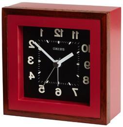 Seiko QXE047RLH Japanese Quartz Alarm Clock