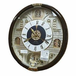 Seiko QXM371BRH Japanese Quartz Alarm Clock