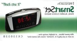 radio cks5055b smartset dual alarm