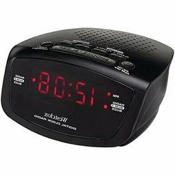 Westclox 80209 Dual Alarm Clock & AM/FM Radio Battery Backup
