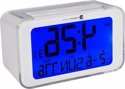 Ambient Weather RC-8320 Atomic Travel Alarm Clock with Tempo