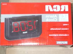 RCA RCD30 High Quality Alarm Clock with 1.4-Inch red LED dis