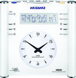 Sangean RCR-3 RCR-3 AM/FM Atomic Digital/Analog Clock Radio
