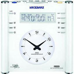 Sangean RCR-3 AM/FM Atomic Digital/Analog Clock Radio