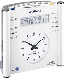 Sangean Rcr-3 Digital Am/fm Atomic Clock Radio