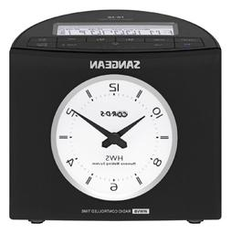 Sangean RCR-9 AM/FM-RDS Digital Tuning Atomic Clock Radio