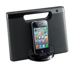 Sony RDPM7iPBLK Portable Speaker Dock for iPod/iPhone,