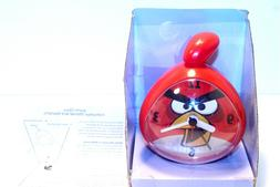 Angry Birds Red Analog Clock New in Package Alarm Clock with