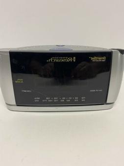 Emerson Research SmartSet Alarm Clock Radio Time Projector S