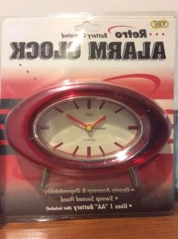 Tozai Retro Atomic MCM Style Footed Battery Operated Alarm C