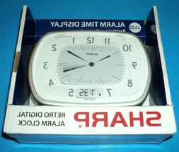 SHARP Retro Digital Alarm Clock with BackLight on Demand ~ I