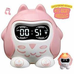 Rocam Alarm Clock For Kids, Toddler Sleep Training Wake Up L