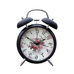 "Romance Paris Twin Bell Alarm Clock 4"""