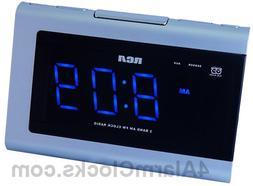 RP5435 Dual Wake AM/FM Clock Radio
