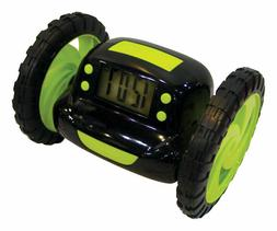 "Runaway Alarm Clock on Wheels 5"" x 3"""