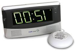 Sonic Bomb SA-SB300SS Sonic Boom Alarm Clock - White