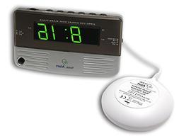Sonic Alert SB200ss Sonic Boom Travel Alarm Clock with Super