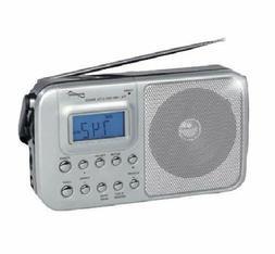 Supersonic SC-1091 4-Band AM/FM/SW1-2 PLL Radio with Alarm C