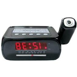 SuperSonic SC-371 Black Digital LED Projection Alarm Clock R