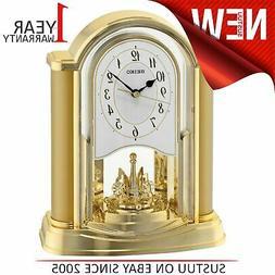 Seiko Seconds Hand Rotating Pendulum Analogue Clock│Batter
