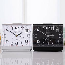 Silent Night Glow Large Numbers Quartz Movement Alarm Clock