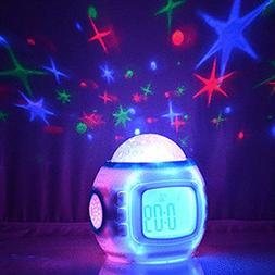 Sinweda Sky Star Night Light Projector Lamp Bedroom Alarm Cl