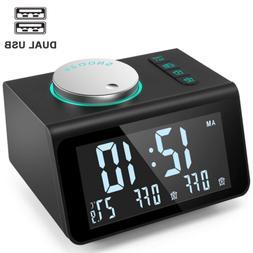 small alarm clock radio with fm radio