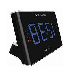 Emerson Smartset Sound Therapy Alarm Clock Radio with White