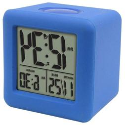 Soft Blue Cube 3-1/4 in. x 3-1/4 in. Silicon Rubber Case LCD
